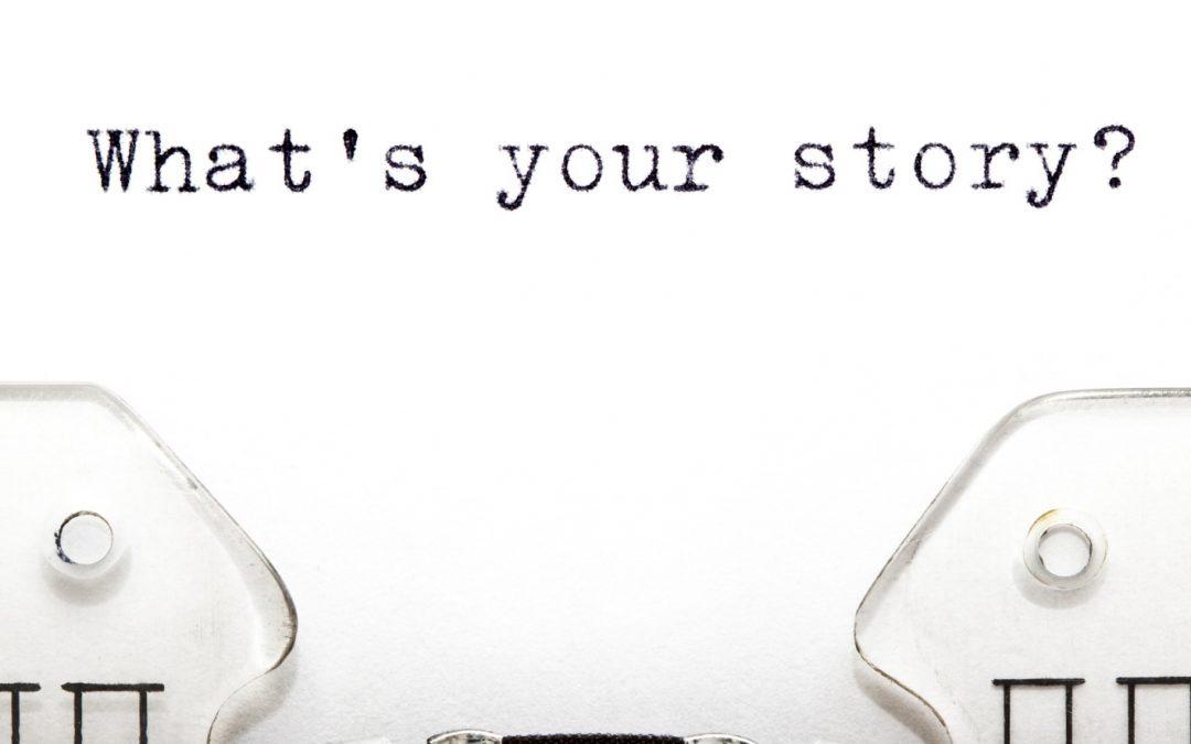 As razões para contar uma história
