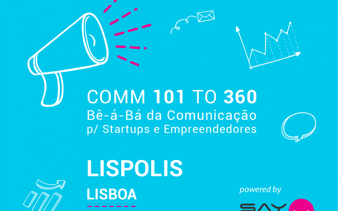 Rota COMM para StartUPs e Empreendedores – LISPOLIS