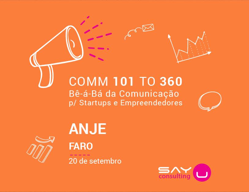 Rota COMM para StartUPs e Empreendedores – ANJE (Faro)