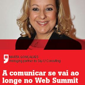 A comunicar se vai ao longe no Web Summit