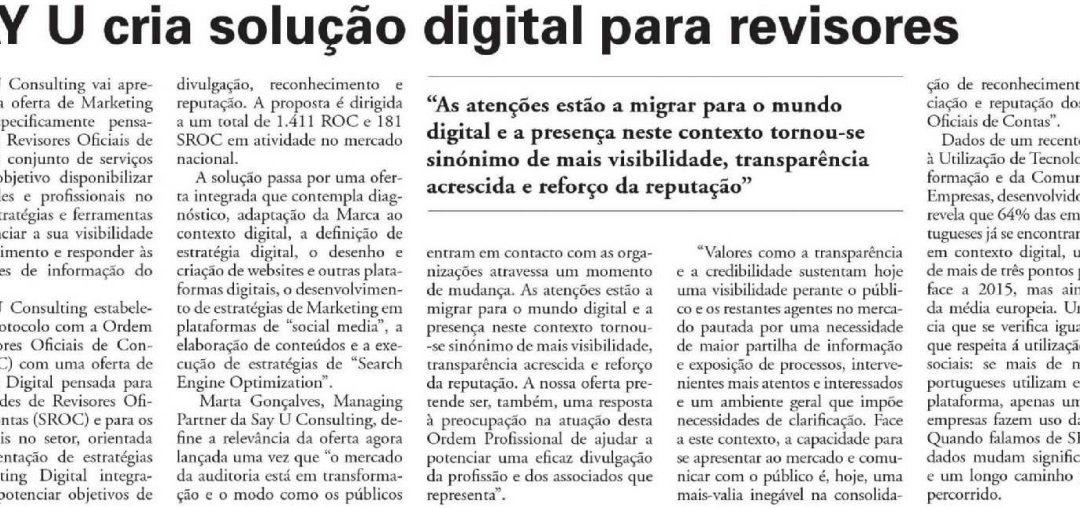 SAY U cria solução digital para revisores