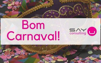 A Equipa da Say U Consulting deseja-lhe um Bom Carnaval!
