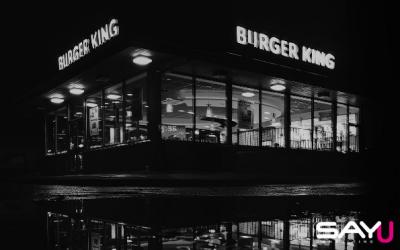 Publicidade ousada: a Burger King sabe o que faz