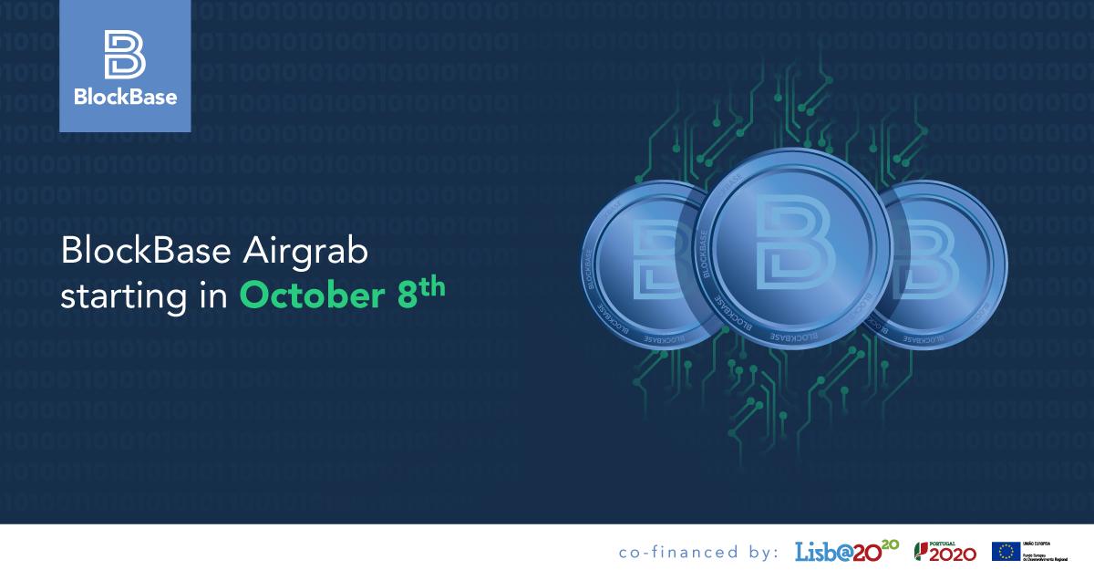 BlockBase Airgrab October 8th