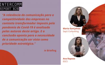 A Comunicação numa estratégia global de negócio